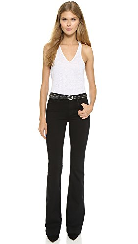 J Brand Womenu0026#39;s Maria High Rise Flare Jeans Seriously Black 31 - Buy Online in UAE. | Apparel ...