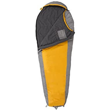 TETON Sports TrailHead  20F Ultralight Sleeping Bag Perfect for Backpacking, Hiking, and Camping, Orange/Grey