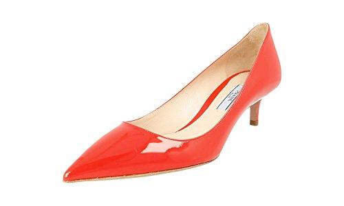 Prada Women's 1I939F XUW F0D17 Leather Court Shoes/Pumps 4KEqVx2M