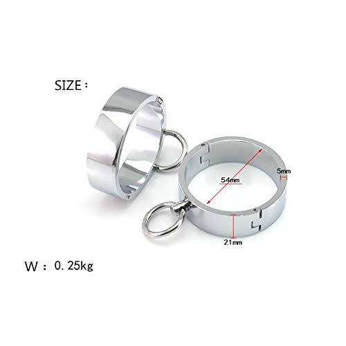 New stainless steel female handcuffs sex products bdsm bondage restraints fetish sex games erotic toys adult sex toys for women