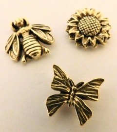 bumble-bee-sunflower-butterfly-set-of-3-clutch-pins-cl-100-ag