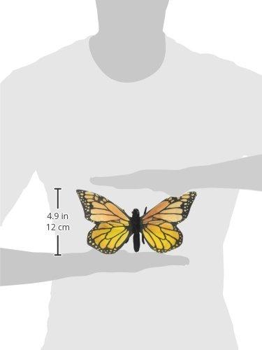 13 cm Peluche Papillon Monarque Anima