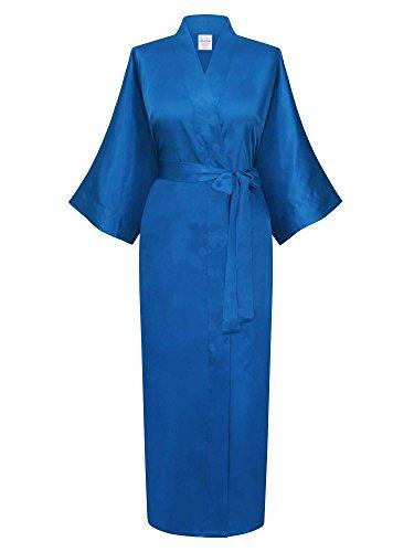 Swhiteme Women's Kimono Robe, Long, One Size -