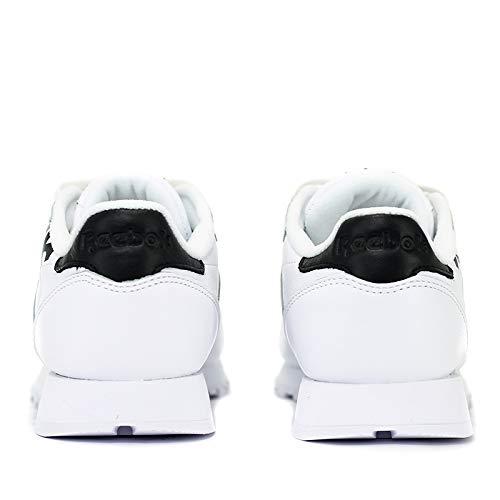 Bianco nero Dv3830 Reebok Donna Tg Sneaker 41eu Cl Lthr Da w00YXqS