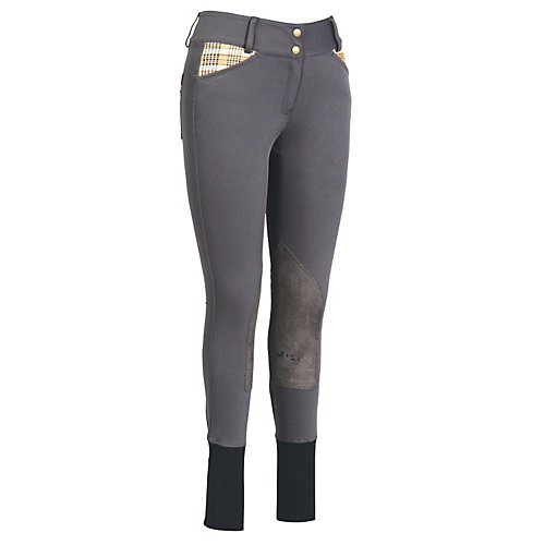 Baker by Equine Couture Women's Elite Breech, Charcoal, 30