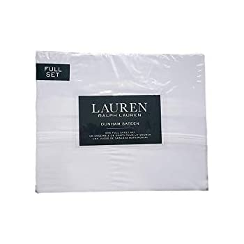 Lauren Ralph Lauren Dunham White Sheet Set Full