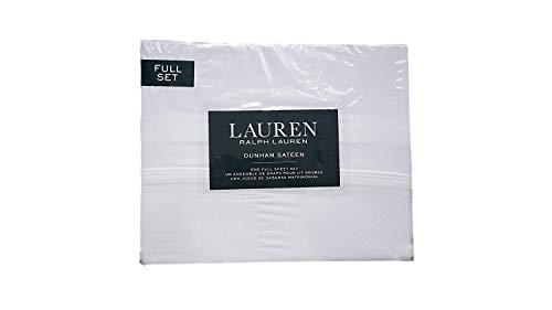 (Lauren Ralph Lauren Dunham White Sheet Set Full)