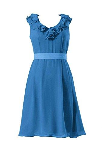 V Damigella 37 Dell'abito Daisyformals Del Chiffon Del royal Blu Vestito Epoca D'onore collo Breve Di Partito bm245 TwCwqxU0