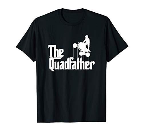 Mens The Quadfather ATV Four Wheeler Quad Bike Gift T-Shirt