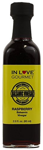 Raspberry Balsamic Vinegar 60ML/2oz Sample Size by In Love Gourmet
