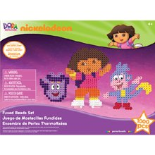 Perler Nickelodeon Fuse Bead Value Activity Kit-Dora The Explorer