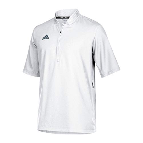 adidas Team Iconic Short Sleeve Quarter-Zip Polo - Men's Multi-Sport