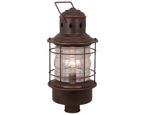 Vaxcel One Light Outdoor Post OP37005BBZ One Light Outdoor Post