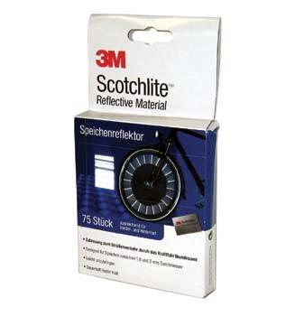 3M Scotchlite Speichenreflektor, für Speichen von 1, 8 2 mm