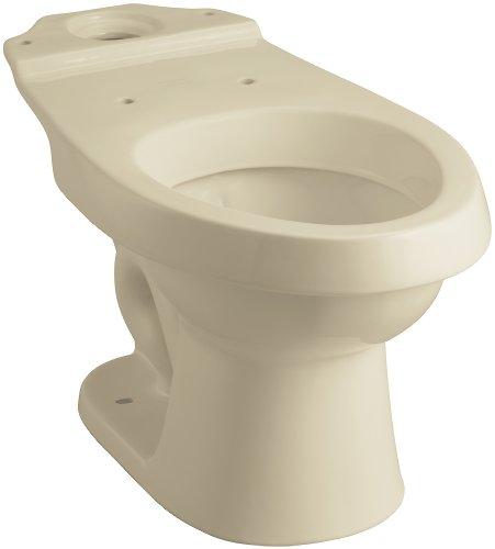 STERLING 402026-47 Rockton Elongated Toilet Bowl, Almond by STERLING, a KOHLER Company
