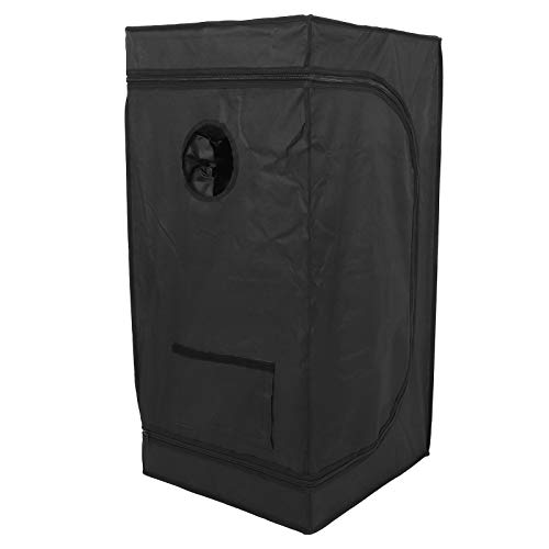 Huakii April Gift Greenhouse Grow Tent, Waterproof 50x50x100cm Indoor Grow Tent, for Greenhouse Indoor Crop Seedlings