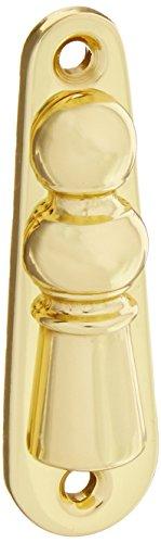 Baldwin 0406030 E R Trim, Bright Brass