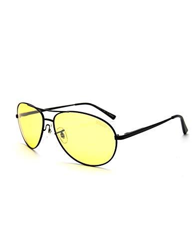 b4675a73f85 Duco Yellow Night-vision Glasses Anti-glare Driving Eyewear HD Sunglasses  3025Y
