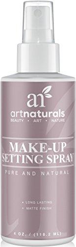 Art Naturals Makeup Setting Spray 4.0 oz Long Lasting / All Day Extender - All Natural with Aloe Vera