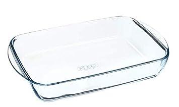 Pyrex - Essentials - Plat à Lasagnes Rectangulaire en Verre 35x23 cm ... 5c5559e7f047