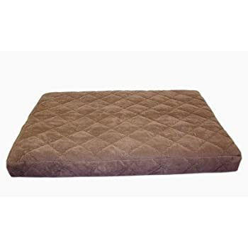 this item carolina pet jamison protector pad quilted oops bed for pets large chocolate - Jamison Mattress