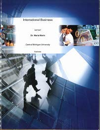 International Business the Challenge of Global Competition (Central Michigan University, Mgmt 667)