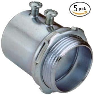 """10 pc Aluminum Coupling Tubular Threaded 2/"""" inch Connector Fitting Pipe"""