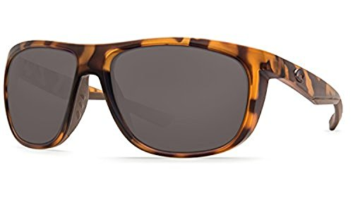 Costa Kiwa Sunglasses & Cleaning Kit Bundle Matte Retro Tort / Gray 580p