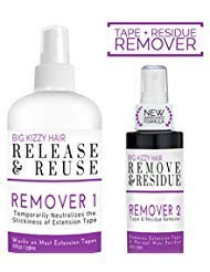 Release Tape Hair Extension Remover, Tested & Proven Fastest & Easiest Adhesive Remover, 8 Ounce Spray Bottle by Big Kizzy Hair by BIG KIZZY HAIR