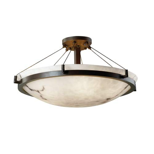 Justice Design Group Lighting FAL-9682-35-DBRZ-LED5-5000 LumenAria-Ring 27