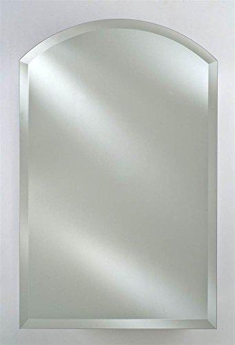 Afina Radiance Arch Top Frameless Wall Mirror (Medium)