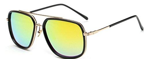 De Sunglasses Sol Beach Americanas Europeas Driving De Party Gafas Y Moda Amarillo BvWE8f4qw