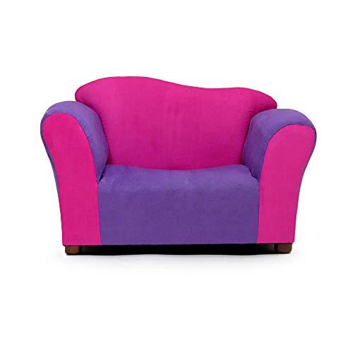 KEET Wave Kid's Chair, Pink/Purple (Kids Wave Chair)