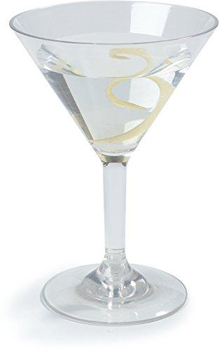 Carlisle 4362707 Liberty Polycarbonate Martini Glass, 8-oz. Capacity, Clear (Case of 24) by Carlisle (Image #8)