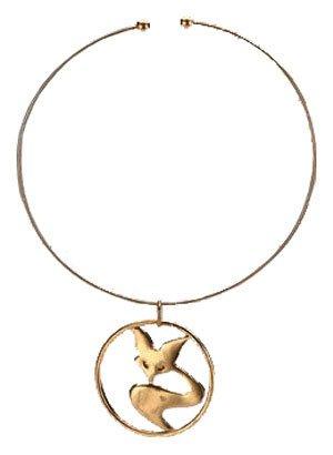 Foxxy Cleopatra Costume Necklace]()