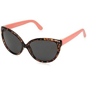 Carter's Baby Carter's Girl Sunglasses Cat Eye Shape, Brown, INFANT