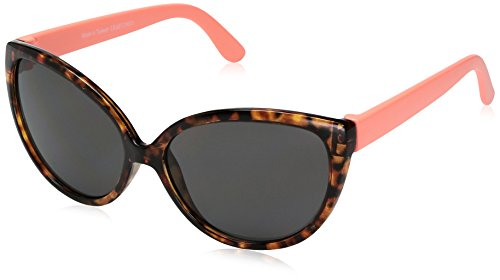Carter's Baby Carter's Girl Sunglasses Cat Eye Shape, Brown, - Sunglasses Toddler Girl