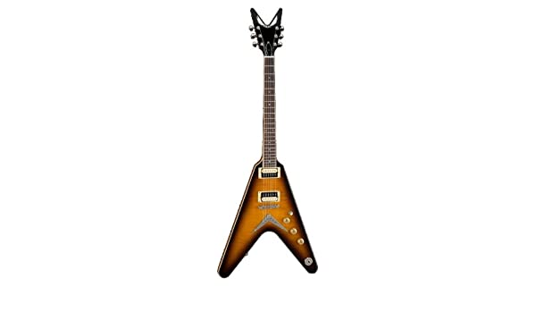 Dean Set cuello V79 - Guitarra eléctrica, color trans brazilburst: Amazon.es: Instrumentos musicales