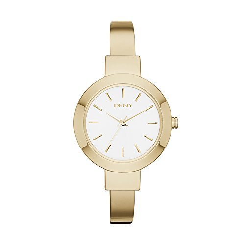 DKNY Women's 'Stanhope' Quartz Stainless Steel Casual Watch, Color:Gold-Toned (Model: NY2346)