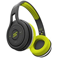 SMS Audio SMS-BTWS-SPRT-YLW SYNC By 50 On Ear Wireless Sport Headphones, Yellow