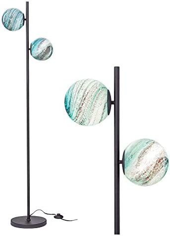 NALATI 2-Light 65″ Sphere Floor Lamp,Standing Light