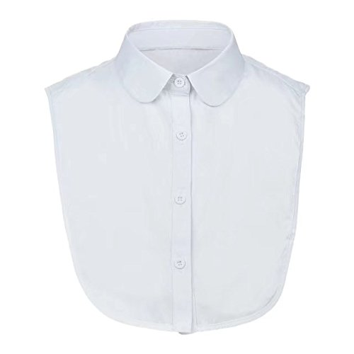Feeling Love Women's Detachable Fake Shirt Collar One Size Suitable for All Easy To Match All Your Collar-Less Costume(Round (Costumes For Less)