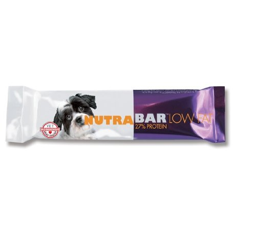 Nutrabar 12-Pack Low-fat Protein Bar for Dogs, 4-Ounce, My Pet Supplies