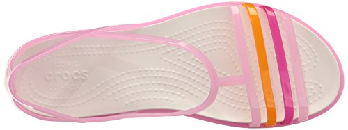 Carnation Sandal Crocs Isabella White Jelly Women's axxZ6wvqI