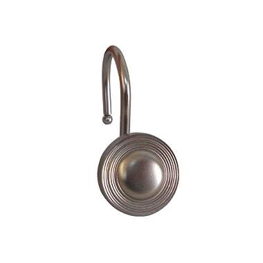 Multiple Circle Shower Hook in Satin Nickel