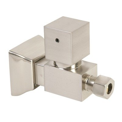 Mountain Plumbing Handle Square - Mountain Plumbing MT5005 Square Handle Straight Valves Finish: Polished Brass
