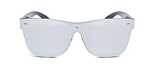 Morye Rimless Wayfarer Sunglasses Mirror Reflective Eyeglasses for Men and Women - Sunglasses Wayfarer Reflective