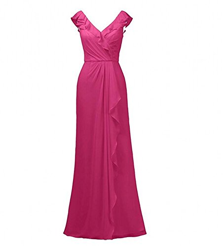 Beauty Fuchsia Kleid Damen KA KA Beauty RCCqp