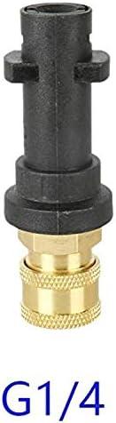 Sepikey Presi/ón Adaptador Lavadora Karcher K r/ápida Limpieza Adaptador de Espuma de Limpieza Pot 1//4 para Karcher K K2 K3 K4 K5 K6 K7