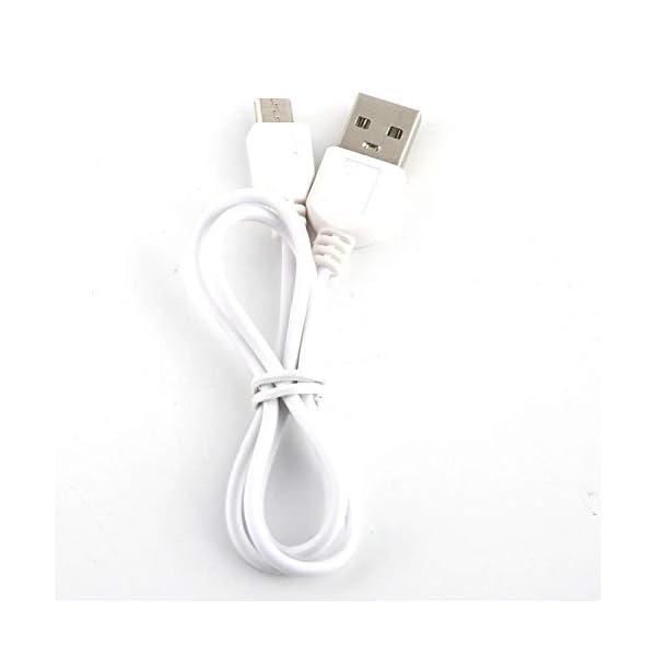 Nitrip USB portatile rosa/azzurro elettrico elettrico succo frullatore macchina succo estrattore doppia lama(Cielo blu) 7 spesavip